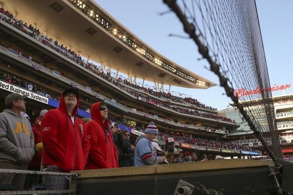 Target Field will have expanded netting for the 2020 season.