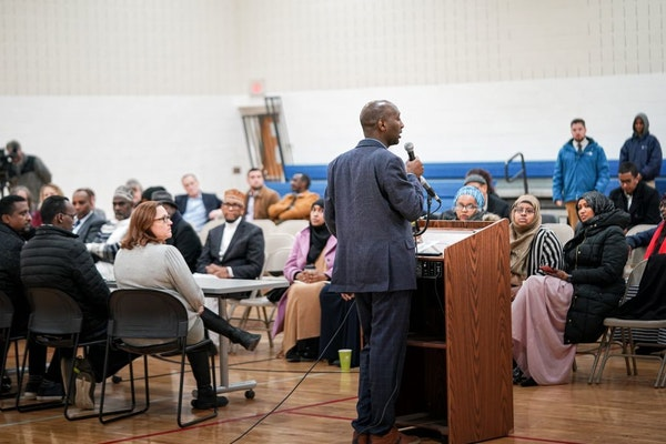 At a forum Friday, state Rep. Mohamud Noor promised legislation to equip older residential buildings with sprinkler systems to prevent similar fatal f