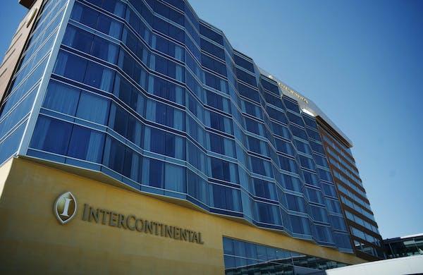 TSA closed the skyway checkpoint at the Intercontinental Hotel at MSP Airport on Monday. Richard Tsong-Taatarii•rtsong-taatarii@startribune.com