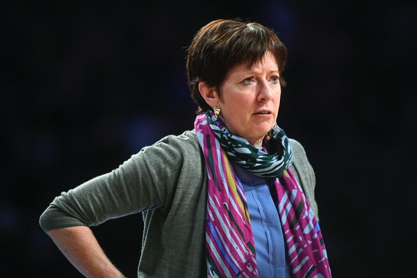 Notre Dame's Muffet McGraw wants more women, like the Gophers' Lindsay Whalen, coaching in her sport.