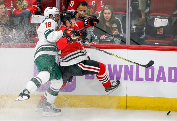 Wild kicks off road trip with first matchup of the season vs. Blackhawks