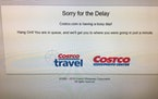 Costco's website outages on Thanksgiving continue into Black Friday