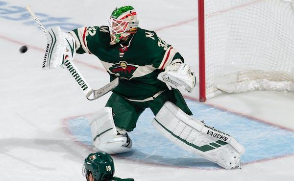 Wild goalie Alex Stalock