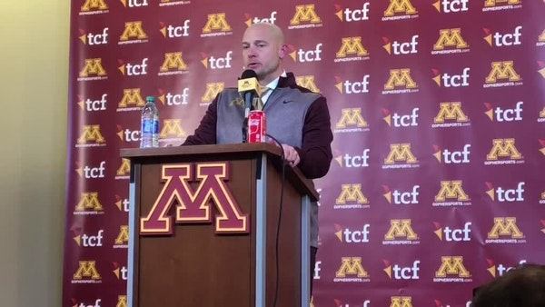 P.J. Fleck on the Gophers loss to Wisconsin