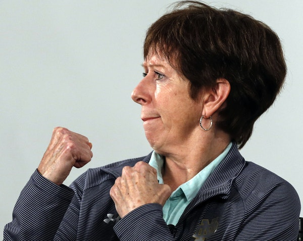 The Gophers face Muffet McGraw and her Irish on Wednesday.