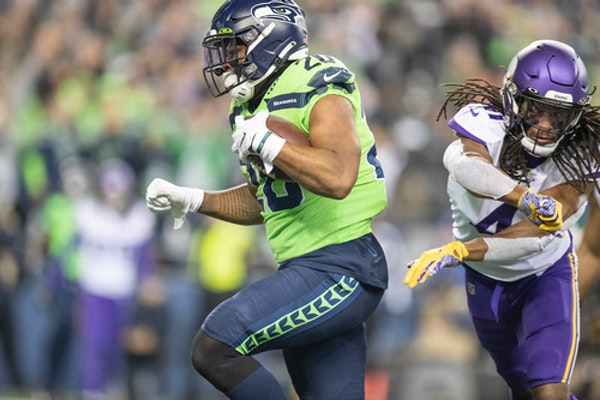 Ground up: Seahawks game plan wasn't what Vikings expected