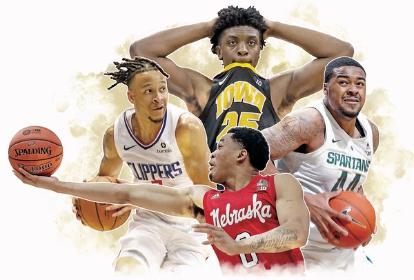 Amir Coffey, James Palmer Jr., Tyler Cook and Nick Ward all left school early to pursue professional careers.