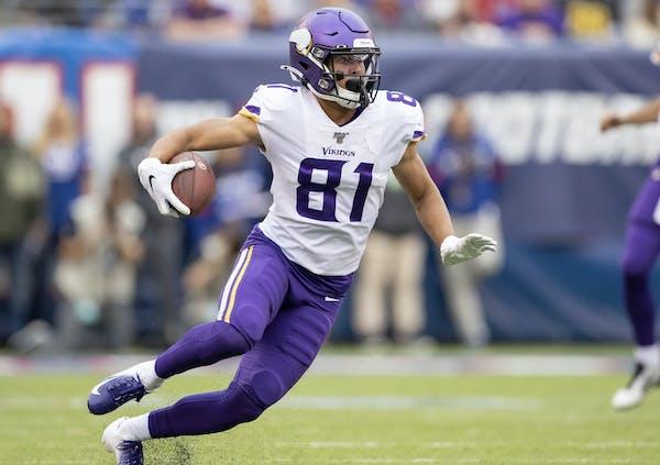 Vikings' unheralded Bisi Johnson zooms up among rookie receivers
