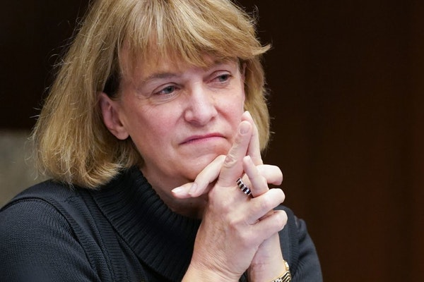 State Human Services Commissioner Jodi Harpstead