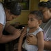 Samoa launched an aggressive vaccination program to fight the measles outbreak.