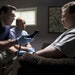 """Jon Hamm and Ian Gomez question Paul Walter Hauser, as the security guard turned bombing suspect in """"Richard Jewell."""""""