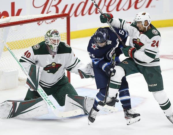 Minnesota Wild goaltender Devan Dubnyk