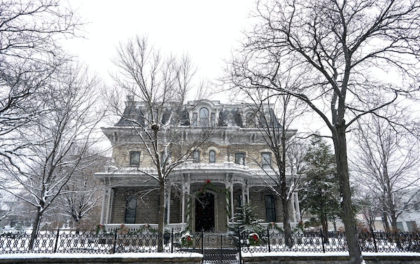 It's a Victorian Christmas at the Alexander Ramsey House in St. Paul.