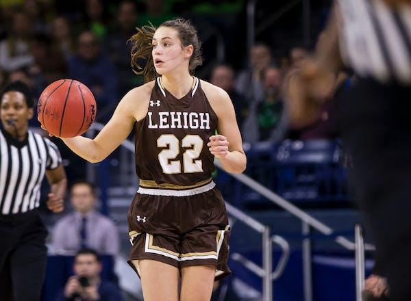 Hannah Hedstrom, a Minnetonka High School product, leads Lehigh in assists.