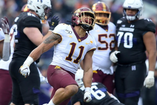 Gophers safety Winfield Jr. named first-team All America