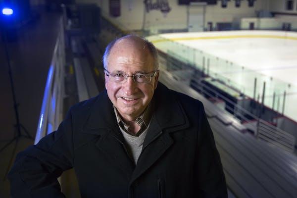 Former Gophers hockey coach Doug Woog