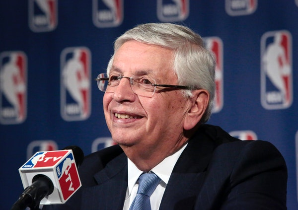 Former NBA Commissioner David Stern died on Wednesday at age 77 in Manhattan.