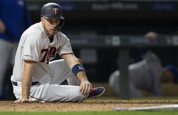 C.J. Cron hit 25 home runs in his first season with the Twins.