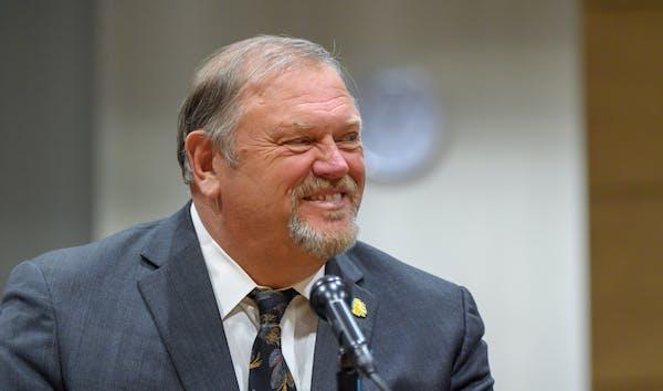 Senate Minority Leader Tom Bakk, pictured in a 2018 file photo.