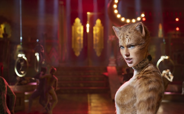 """Taylor Swift as Bombalurina in """"Cats."""" Universal Pictures"""