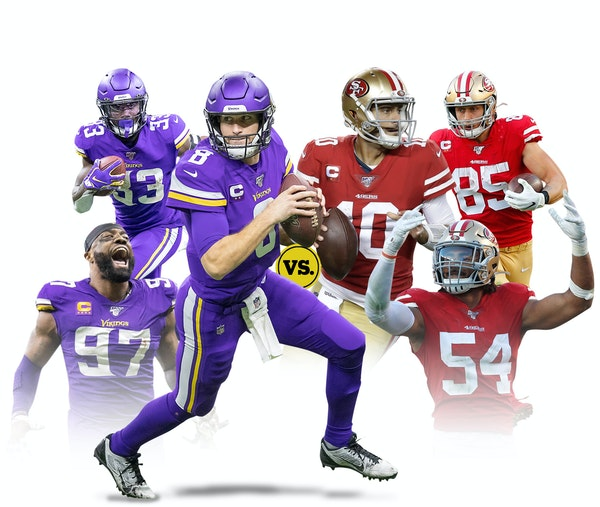 From left to right: Everson Griffen, sack specialist and potential disruptor; Dalvin Cook, the Vikings' main reason to run; Kirk Cousins, 1-for-1 in