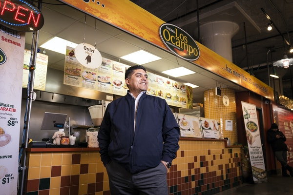 Armando Ocampo opened his second restaurant in the Midtown Global Market development that NDC and partners opened in the abandoned Sears building on E
