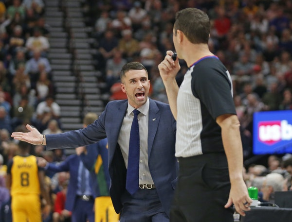 Timing is a big factor in when to ask a referee to have a call reviewed, as Wolves coach Ryan Saunders has learned. He has availed himself of the opti