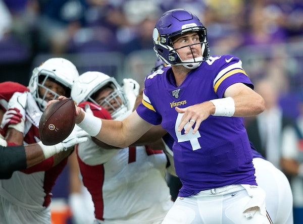 The Vikings are locked in to the NFC's No. 6 seed, which means backups such as quarterback Sean Mannion might see extensive playing time against the