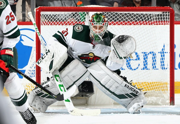 Wild goaltender Kaapo Kahkonen made his NHL debut Nov. 26 at New Jersey. He won that game, and his next start at Florida as well.