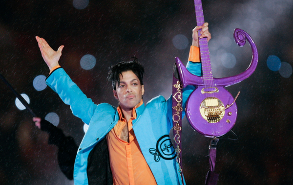 In this Feb. 4, 2007 file photo, Prince performs during halftime of the Super Bowl XLI football game in Miami. Minnesota court records show a wrongful