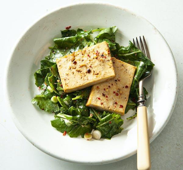 Recipe: Oven-Roasted Tofu With Maple-Soy Glaze