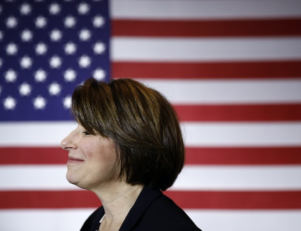 Some pundits say presidential candidate U.S. Sen. Amy Klobuchar, D-Minn., offers voters a comfortable moderate choice.