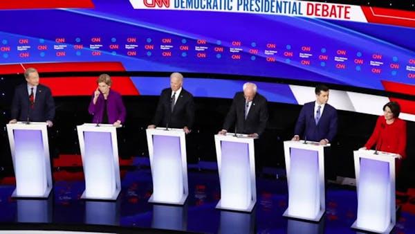 Warren makes case: Democratic woman can beat Trump