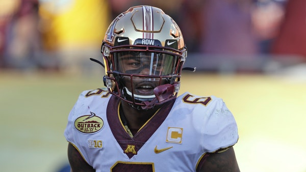 Minnesota wide receiver Tyler Johnson during the second half of the Outback Bowl NCAA college football game against Auburn Wednesday, Jan. 1, 2020, in