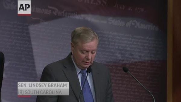 GOP senators: 'Voters should decide Trump's fate'