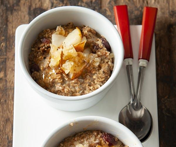 Call it breakfast pilaf or oatmeal creme brulee