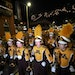 The University of Minnesota Marching Band made its way through Ybor City during Tuesday night's parade.