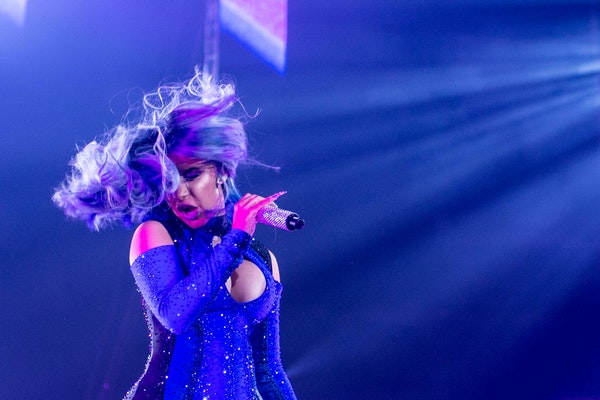 Cardi B performed for only 50 minutes when she played Target Center in July.