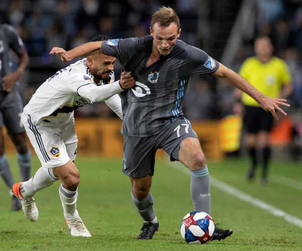 Green card for Loons' Boxall, national team debut likely for Gasper