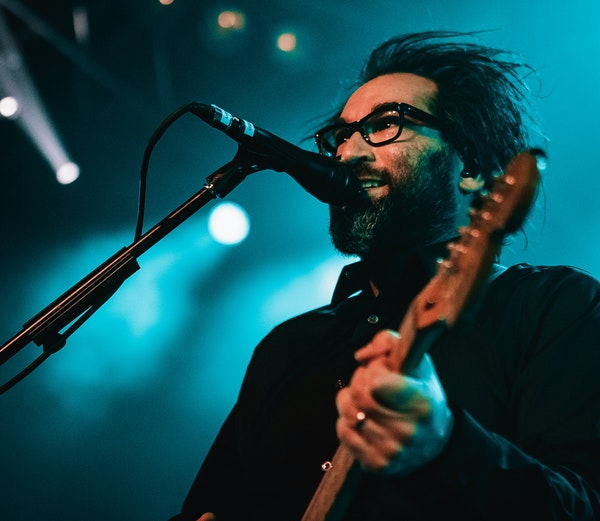"""Justin Courtney Pierre said he felt nerves when Motion City played its first gig in 3½ years, but then """"it was like, 'Oh, hell, yeah. Let's do"""