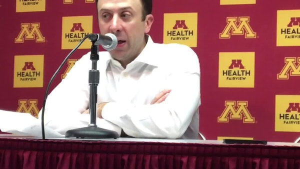 Gophers react to frustrating loss vs. Indiana