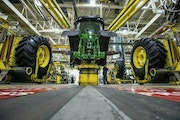 The Farm Bureau is turning up the pressure on equipment manufacturers to give farmers more leeway to work on tractors and other equipment that has bec