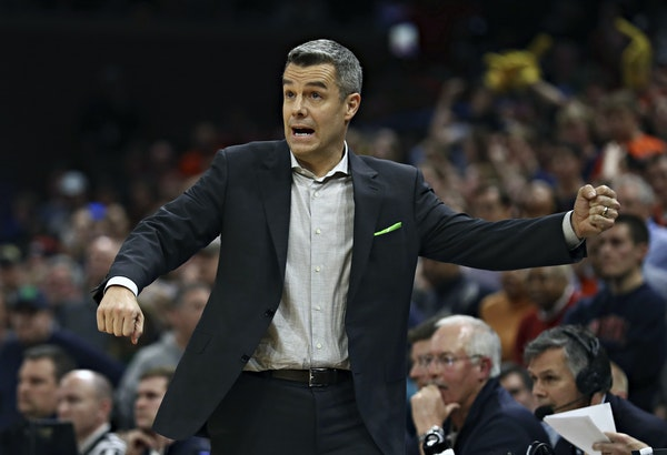 Tony Bennett coached Virginia to the national title in Minneapolis last year, but the Cavaliers are no lock for the NCAAs this season.