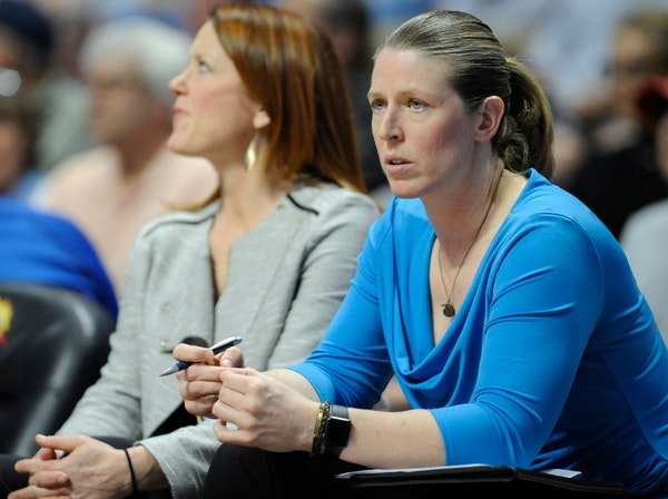 Katie Smith with the New York Liberty in 2016. When Smith's head coaching contract was not renewed by the Liberty, Lynx coach Cheryl Reeve immediate