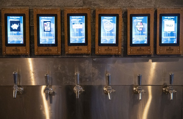Duluth Beer Exchange has 40 pour-your-own taps of beer, wine and ciders.