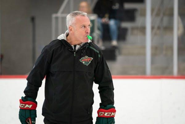 Wild hosts Sharks in Dean Evason's first game as interim coach