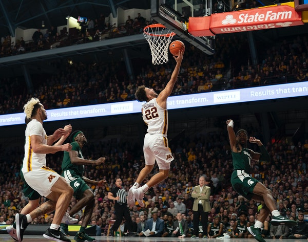 """Sophomore Gabe Kalscheur said of the Gophers' situation: """"We know we only have so many games left."""""""