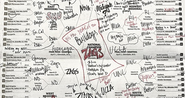 Will your 2020 NCAA bracket be a work of art?