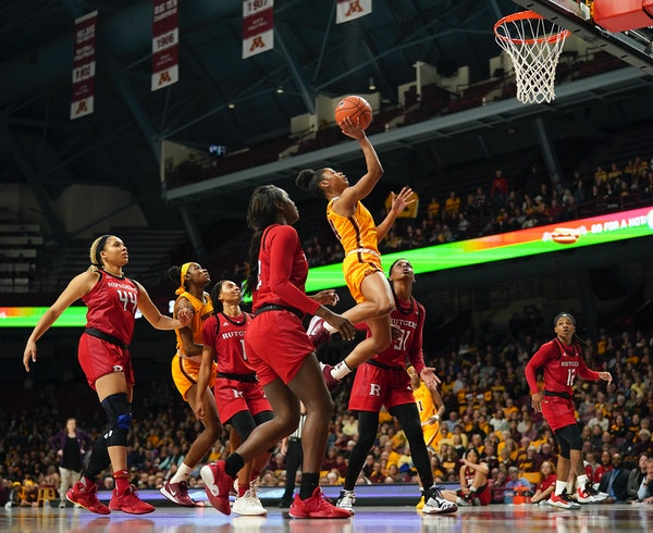 Expectations will be higher for guard Jasmine Powell, who moved into the Gophers starting lineup for the final 12 games and made the Big Ten's all-f
