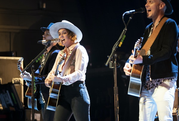 Brandi Carlile performed at the Fillmore Minneapolis on Wednesday.